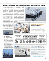 Maritime Reporter Magazine, page 63,  May 2013