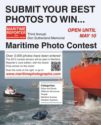 Maritime Reporter Magazine, page 74,  May 2013