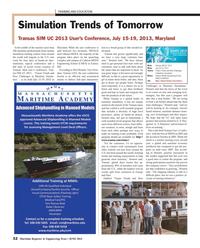Maritime Reporter Magazine, page 32,  Jun 2013