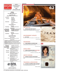 Maritime Reporter Magazine, page 4,  Jun 2013