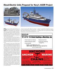 Maritime Reporter Magazine, page 73,  Jun 2013
