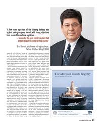 Maritime Reporter Magazine, page 27,  Jul 2013 Indian Ocean