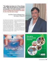 Maritime Reporter Magazine, page 29,  Jul 2013 India