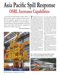 Maritime Reporter Magazine, page 34,  Jul 2013 subsea well capping equipment