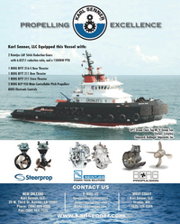 Maritime Reporter Magazine, page 4th Cover,  Jul 2013