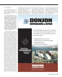 Maritime Reporter Magazine, page 17,  Aug 2013 installed navigation equipment