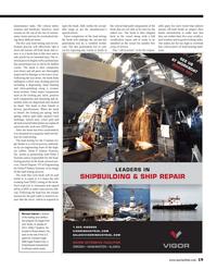 Maritime Reporter Magazine, page 19,  Aug 2013 Michael Gabriel