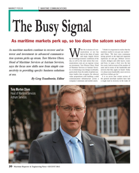 Maritime Reporter Magazine, page 20,  Aug 2013 upstream oil and gas