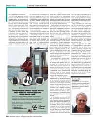 Maritime Reporter Magazine, page 26,  Aug 2013 Metropolitan Police