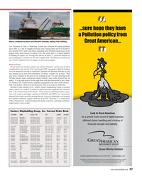 Maritime Reporter Magazine, page 37,  Aug 2013