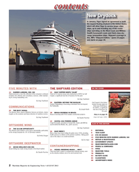 Maritime Reporter Magazine, page 2,  Aug 2013