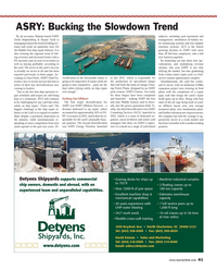 Maritime Reporter Magazine, page 41,  Aug 2013 low-sulphur emission systems