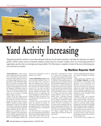 Maritime Reporter Magazine, page 44,  Aug 2013
