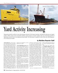 Maritime Reporter Magazine, page 44,  Aug 2013 U.S. Gulf Coast
