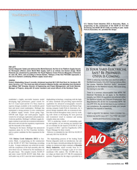Maritime Reporter Magazine, page 45,  Aug 2013