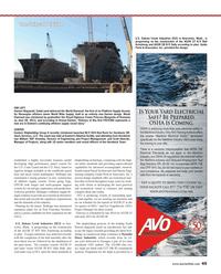 Maritime Reporter Magazine, page 45,  Aug 2013 Scott Siberski