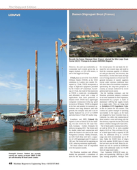 Maritime Reporter Magazine, page 48,  Aug 2013 Brazil