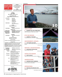 Maritime Reporter Magazine, page 4,  Aug 2013