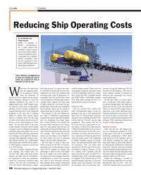 Maritime Reporter Magazine, page 58,  Aug 2013 Moody?s Investor Service