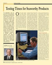 Maritime Reporter Magazine, page 74,  Aug 2013 International Association