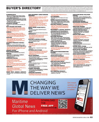 Maritime Reporter Magazine, page 83,  Aug 2013 advertising programs