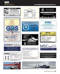 Maritime Reporter Magazine, page 85,  Aug 2013 Florida