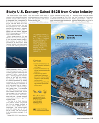 Maritime Reporter Magazine, page 13,  Sep 2013 light and heavy steel structures