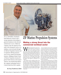 Maritime Reporter Magazine, page 14,  Sep 2013 Central American HQ