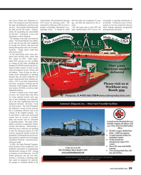 Maritime Reporter Magazine, page 29,  Sep 2013 English Channel