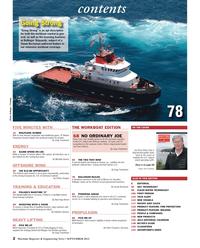 Maritime Reporter Magazine, page 2,  Sep 2013 Kathleen GleavesHEAVY