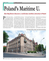 Maritime Reporter Magazine, page 40,  Sep 2013 Department of Foreign Languages