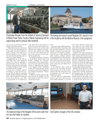Maritime Reporter Magazine, page 42,  Sep 2013 Maritime University of Szczecin