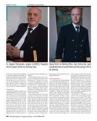 Maritime Reporter Magazine, page 44,  Sep 2013 decision support system