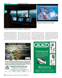 Maritime Reporter Magazine, page 46,  Sep 2013 MARINE PROPULSION INC.