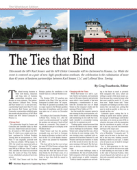 Maritime Reporter Magazine, page 60,  Sep 2013 Steve Valdes