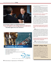 Maritime Reporter Magazine, page 76,  Sep 2013