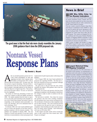 Maritime Reporter Magazine, page 8,  Oct 2013 oil-spill response