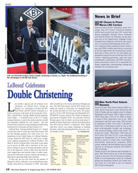 Maritime Reporter Magazine, page 10,  Oct 2013 Washington
