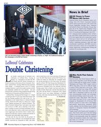 Maritime Reporter Magazine, page 10,  Oct 2013 Washington