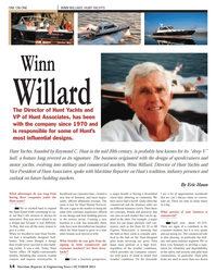 Maritime Reporter Magazine, page 14,  Oct 2013 Winn Willard