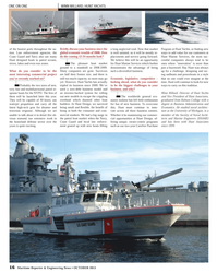 Maritime Reporter Magazine, page 16,  Oct 2013 Society of Naval Archi