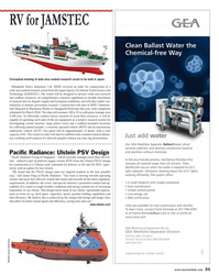 Maritime Reporter Magazine, page 31,  Oct 2013 Japan