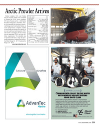 Maritime Reporter Magazine, page 33,  Oct 2013 United States