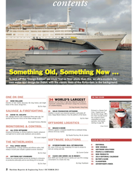 Maritime Reporter Magazine, page 2,  Oct 2013 Eric HaunSALVAGE
