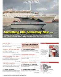 Maritime Reporter Magazine, page 2,  Oct 2013 Eric HaunSALVAGE