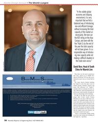 Maritime Reporter Magazine, page 38,  Oct 2013 China