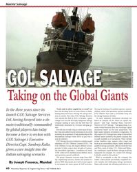 Maritime Reporter Magazine, page 40,  Oct 2013 East Coast