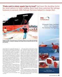 Maritime Reporter Magazine, page 41,  Oct 2013 Goa