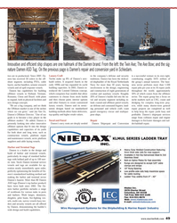 Maritime Reporter Magazine, page 49,  Oct 2013 ship-repair services