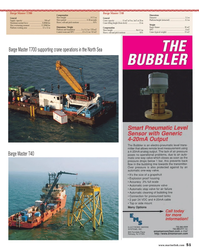 Maritime Reporter Magazine, page 51,  Oct 2013 Sony Ericsson T700 Cellular Phone